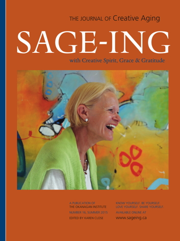 Sage-ing with Creative Spirit